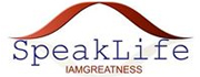 Speak Life I am Greatness Charity